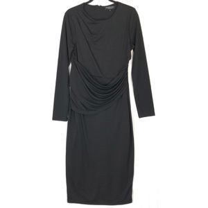 Rachel Roy Collection ruched midi dress A0686